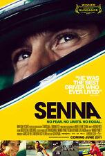 Senna Movie Poster #01 24x36- English version Aryton Senna
