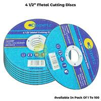 "115mm 4.5"" ULTRA THIN METAL CUTTING SLITTING BLADE DISCS 1/2"" FOR ANGLE GRINDER"