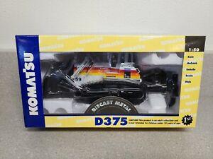 Komatsu D375A Dozer with Ripper - Sunrise Mining First Gear 1:50 Scale #50-3092