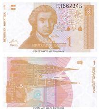 Croacia 1 dinar 1991 P-16 Billetes Unc
