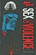 Sin City : Sex & Violence Frank Miller One-Shot Dark Horse 1997 Nice!