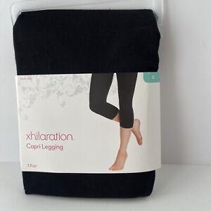 Xhilaration Black Capri Leggings Size Small (4-6)