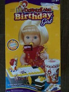 1999 McDonaldLand Birthday Girl Doll - Hasbro (Brand New) Very Very Rare!