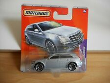 Matchbox Cadillac CTS Wagon in Grey on Blister