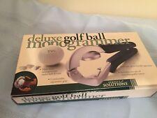 *NIP* Deluxe Golf Ball 3 Letter Monogrammer - Personalize Golf Balls
