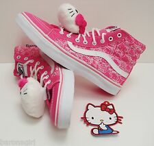Vans Women's Shoes Limited Edition Hello Kitty Sk8 Hi Slim VN-0QG38M0 Size: 10.5