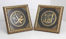 Set of 2 wooden tabletop stand frames, Home decorative