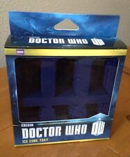 Think Geek Blue Silicone DOCTOR WHO Ice Cube Tray - NIP