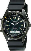 CASIO AMW360B-1A1V VINTAGE Men's Black Analog Multi-Function Digital Wristwatch