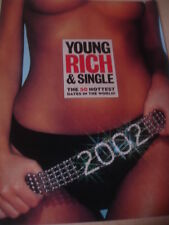 2002 FHM 50 Hottest Dates in the World YOUNG RICH & SINGLE issue Rachel Hunter