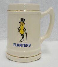 PLANTERS PEANUTS MR. PEANUT 1960 CERAMIC MUG STEIN