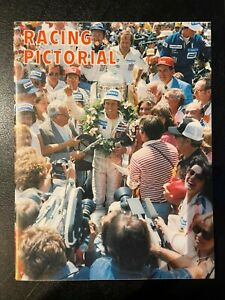Racing Pictorial Magazine 1979 Summer Rick Mears Cover