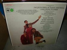 JACQUES BREL is alive & well  ( world music ) - 2lp - cbs - uk - TOP COPY -