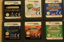 Nintendo games x 6