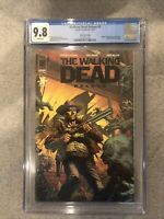 THE WALKING DEAD DELUXE 1 BLACK FOIL EDITION - CGC 9.8 - RARE   300 on census *