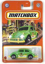 2021 Matchbox - '62 VW Green 🚖 1962 VOLKSWAGEN BEETLE Taxi Cab 🚖 -#97/100