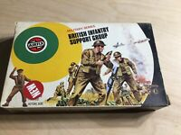 Rare Airfix Military Series British Infantry Support Group 1/32 Scale Figures