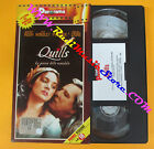 VHS film QUILLS LA PENNA DELLO SCANDALO Kate Winslet Rush PANORAMA (F135) no dvd