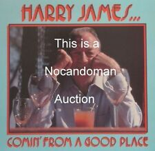 SEALED AUDIOPHILE LP HARRY JAMES COMIN' FROM A GOOD PLACE COMING SHEFFIELD LAB