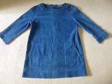 Toast blue cotton cord OAS tunic 10 /12