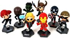 Marvel Avengers Grab Zags Marvel Minis Complete Set Of 8 Series 1 NEW