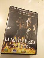 Dvd  LA NOVENA PUERTA  con johnny depp...