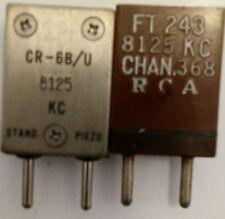 8125 KHz FT-243 Crystal for 146.25 MHz amateur 2 meter band