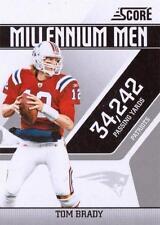 2011 Score Millennium Men #18 Tom Brady New England Patriots