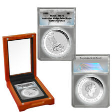 2019-P Australia Wedged-Tailed Eagle 1 oz Silver MS70
