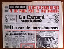 Le Canard Enchaîné 23/08/1989; Gendarmes en colère