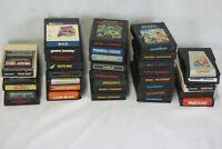 34 Atari 2600 Games- Missile Command, Defender, Q-Bert, Donkey Kong... Fast Ship