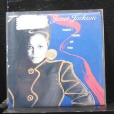 "Janet Jackson - When I Think About You / Pretty Boy 7"" Mint- AM-2855 Vinyl 45"