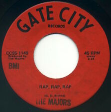 THE MAJORS Rap, Rap, Rap/What You See Is What You Get 1971 Gate City VG mp3
