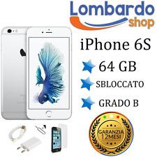 APPLE IPHONE 6S 64GB GRADO B BIANCO ORIGINALE RIGENERATO RICONDIZIONATO USATO