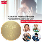 6Pc EMF Protection Phone Anti Radiation Protector Stickers Negative Ions Blocker