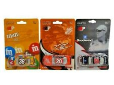 AP Action LOT of 3 Cars 1:64 Sadler M&M Childress Goodwrench Stewart Home Depot