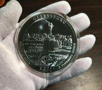 2011 ATB Gettysburg uncirculated 5 troy oz, .999 pure Pennsylvania NP6