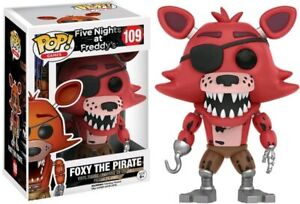 Five Nights at Freddy's - Foxy the Pirate Pop! Vinyl Figure-FUNKO