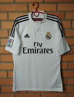 Real Madrid Home football shirt 2014 - 2015 size S soccer jersey Adidas