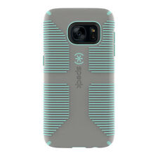 Speck Candyshell Grip Case for Samsung Galaxy S7 - Sand Grey/Aloe Green