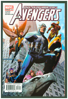 Avengers #82 VF/NM Marvel Comics 2004 Captain America & Wasp Cover