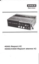 Uher Service Manual für 4000 Report IC 4200 / 4400 report stereo IC kompl. Cop