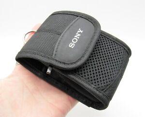 Sony Camera Case - Genuine Sony Cybershot Digital Camera Case with Pocket