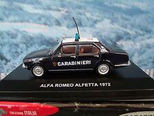 1/43 EG Edison Giocattoli  (Italy)   Alfa Romeo Alfetta 1972 Police