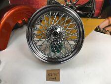 """86-99 Harley Davidson Softail 16X3.5"""" 80 Spoke Front Rim 3/4"""" Timken Bearings"""