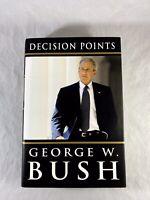 Decision Points George W. Bush Book