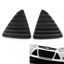 2X Front Bumper Grille Fog Light Lamp Bumper Covers Fit for Ford Focus 2012-2014