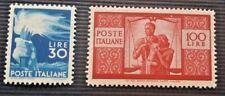 1945:Italia Repubblica - Democratica Serie CPL. Alti Valori Centratissimi ** (2)