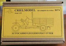 Italian Truck Fiat 15 Ter Autocarro Leggero 1/35 Resin CRIEL Crielmodel R074