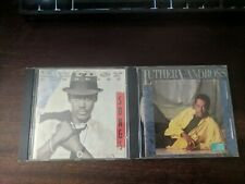 2 Luther Vandross CD Lot - Give me the Reason & Songs R&B Soul Pop